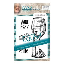 COOSA Crafts #9 Fusion Wine Setting Clear Stamps (COC-063)