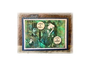 COOSA Crafts #10 Fusion Getting Dressed Clear Stamps (COC-065)