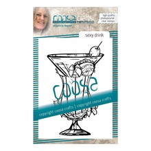 COOSA Crafts #10 Fusion Sexy Drink Clear Stamps (COC-066)