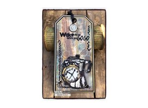 COOSA Crafts #11 Fusion Wake Me Up Clear Stamps (COC-069)