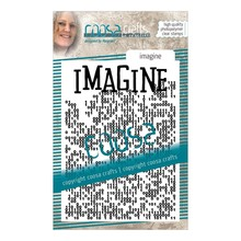 COOSA Crafts #14 Achtergrond Imagine Clear Stamps (COC-085)