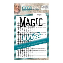 COOSA Crafts #14 Achtergrond Magic Clear Stamps (COC-087)