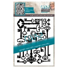 COOSA Crafts Multi Sleutels Embossing Folder (COC-055)