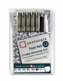 SAKURA Zentangle 12 Piece Tools Set (Z12PTGB)