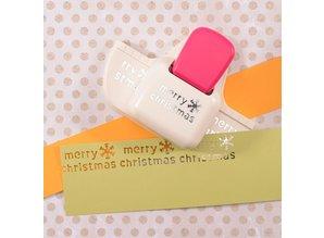 Vaessen Creative Randpons Diepe Rand Merry Christmas (21486-001)