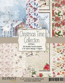 Reprint Christmas Time 6x6 Inch Collection Pack (RPP021)