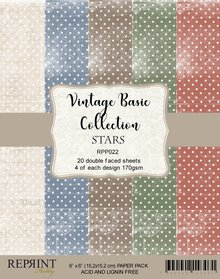 Reprint Basic Stars 6x6 Inch Collection Pack (RPP022)