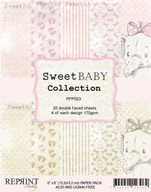 Reprint Sweet Baby Pink 6x6 Inch Collection Pack (RPP023)