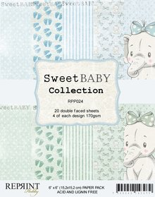 Reprint Sweet Baby Blue 6x6 Inch Collection Pack (RPP024)