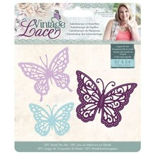 Crafter's Companion Vintage Lace Kaleidoscope of Butterflies Dies (S-VL-MD-KOB)