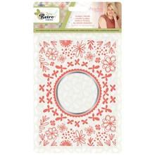 Crafter's Companion Sew Retro Floral Frame Cut & Emboss Folder (S-SR-CEF-FLFR)