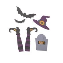 Sizzix Thinlits Spooky Witch (663461)