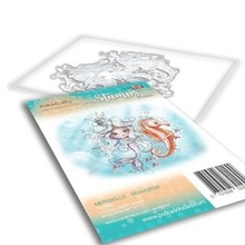 Polkadoodles Meribelle Seahorse Clear Stamp (PD7834)
