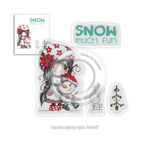 Polkadoodles Winnie Snow Much Fun Clear Stamps (PD7963)