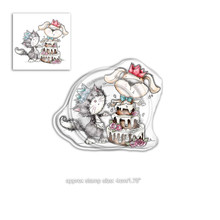 Polkadoodles Horace & Boo Surprise Clear Stamp (PD7863)