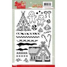 Yvonne Creations Sweet Christmas Clear Stamp Set (YCCS10053)