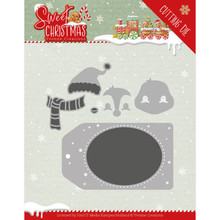 Yvonne Creations Sweet Christmas Penguin Die (YCD10179)
