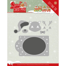 Yvonne Creations Sweet Christmas Deer Die (YCD10180)