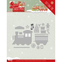 Yvonne Creations Sweet Christmas Train Die (YCD10181)