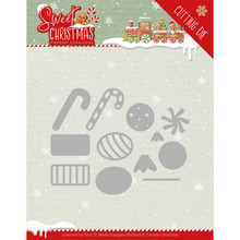 Yvonne Creations Sweet Christmas Candy Die (YCD10183)
