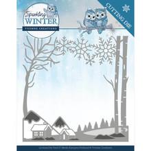Yvonne Creations Sparkling Winter Winter Landscape Die (YCD10187)