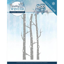 Yvonne Creations Sparkling Winter Birch Trees Die (YCD10188)
