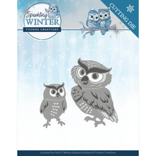 Yvonne Creations Sparkling Winter Winter Owls Die (YCD10192)