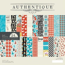 Authentique Ingredient 8x8 Inch Paper Pad (ING014)