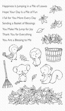 My Favorite Things Piles of Fun Clear Stamps (SY-13)