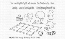 My Favorite Things Picnic Pals Clear Stamps (SY-10)