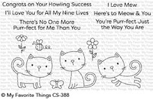 My Favorite Things Purr-fect Clear Stamps (CS-388)
