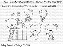 My Favorite Things Builder Bears Clear Stamps (CS-390)