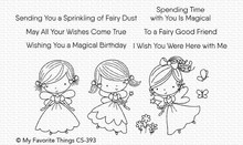 My Favorite Things Fairy Good Friends Clear Stamps (CS-393)