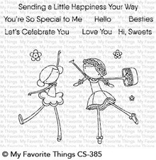 My Favorite Things Sweet Besties Clear Stamps (CS-385)