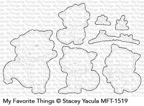 My Favorite Things Die-namics Friendly Foxes (MFT-1519)
