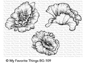 My Favorite Things Die-namics Poppy Blooms (MFT-1539)