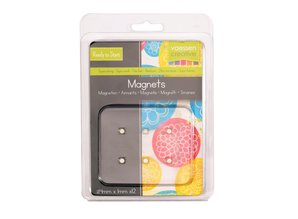 Vaessen Creative Nickel Coated Magnetic Discs Ø 4x1mm (12 pcs) (1617-122)