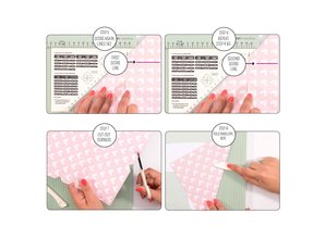 Vaessen Creative Score Easy Scoringboard 30,5x30,5 cm Mint (2137-050)