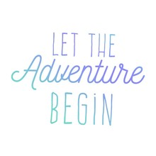 Couture Creations Men's Collection Let The Adventure Mini Clear Stamp (CO726785)