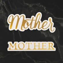 Couture Creations Mother Sentiment Mini Cut, Foil & Emboss Dies (CO726737)