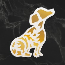 Couture Creations Puppy Silhouette Mini Cut, Foil & Emboss Die (CO726744)
