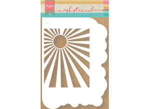 Marianne Design Masking Stencil Clouds & Sunburst (PS8024)