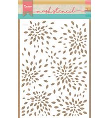 Marianne Design Masking Stencil Flower Petals (PS8026)