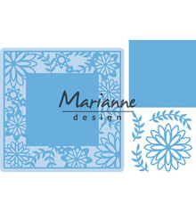 Marianne Design Creatable Flower Frame Square (LR0577)