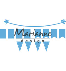 Marianne Design Creatable Bunting Banners (LR0581)