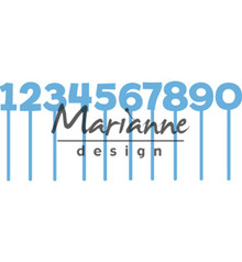 Marianne Design Creatable Pins Numbers (LR0582)