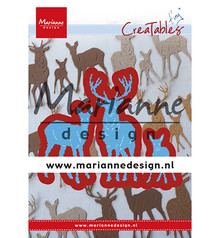 Marianne Design Creatable Tiny's Deer Family (LR0615)