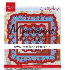 Marianne Design Creatable Snowflakes Square (LR0633)