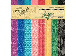 Graphic 45 Fashion Forward 12x12 Inch Patterns & Solid (4501971)