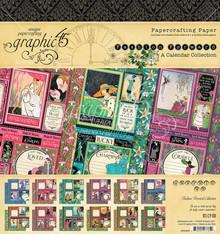 Graphic 45 Fashion Forward 8x8 Inch Paper Pad (4501969)